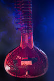 Sitar, a String Traditional Indian Musical Instrument Stock Photography