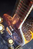 Sitar, a String Traditional Indian Musical Instrument Royalty Free Stock Photos