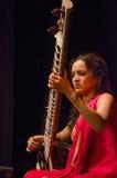 Sitarist Anoushka Shankar Stock Image
