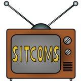 Sitcom della TV Fotografia Stock