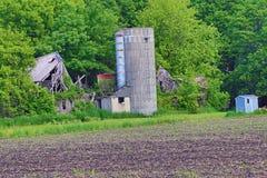 Site abandonné de ferme Images stock