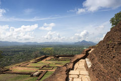 Site of the ancient palace of Sri Lanka Royalty Free Stock Images