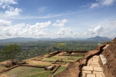 Site of the ancient palace of Sri Lanka Royalty Free Stock Image