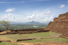 Site of the ancient palace of Sri Lanka Stock Photos