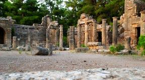 Site antique de côté image libre de droits