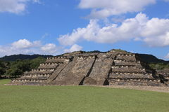Site archéologique d'EL Tajin, Veracruz, Mexique photos libres de droits