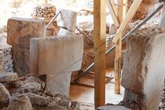 Site archéologique de Gobekli Tepe Image libre de droits