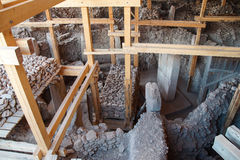 Site archéologique de Gobekli Tepe Images stock