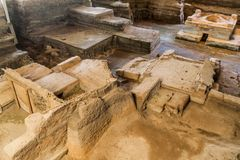 Site archéologique de Joya de Ceren, EL Salvad photo libre de droits