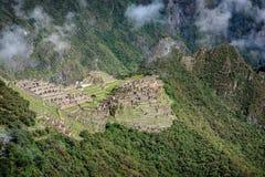 Site archéologique de Machu Picchu, Pérou image libre de droits