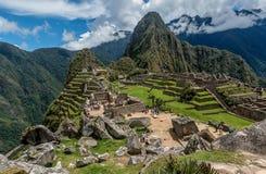 Site archéologique de Machu Picchu, Pérou Photos stock