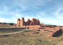 Site archéologique de Quarai Image stock