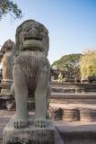 Site archéologique en Thaïlande Photo libre de droits