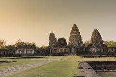 Site archéologique en Thaïlande Image libre de droits