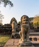Site archéologique en Thaïlande Photographie stock