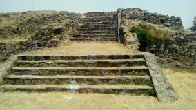 Site archéologique : Ixtépete, Guadalajara Images libres de droits