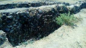 Site archéologique : Ixtépete, Guadalajara Photographie stock