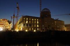 Site berlin palace Stock Image