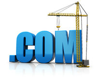 Site building vector illustration