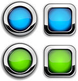 Site buttons. Stock Photography