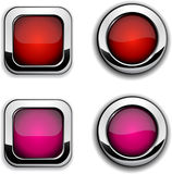 Site buttons. Royalty Free Stock Photos