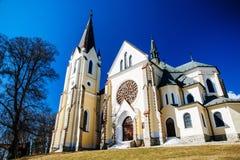 Site chrétien de pèlerinage - hora de Marianska, Slovaquie image libre de droits