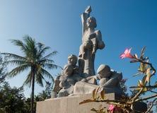 Site commémoratif au Vietnam photos libres de droits