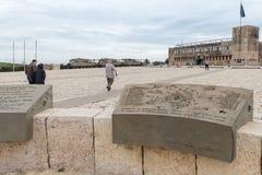 Site commémoratif et le musée blindé de corps dans Latrun, Israël images libres de droits