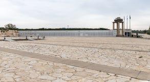 Site commémoratif et le musée blindé de corps dans Latrun, Israël photos libres de droits