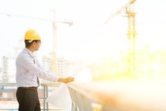 Site contractor engineer working Stock Photos