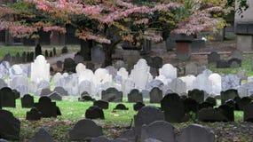 Site d'enterrement de Boston Photo libre de droits