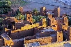 Site d'héritage d'Ait Benhaddou Citadel Unesco World photographie stock libre de droits