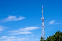 Site de cellules et station d'émetteur-récepteur basse Photographie stock libre de droits