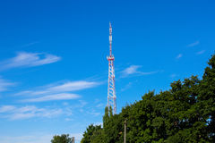 Site de cellules et station d'émetteur-récepteur basse Photographie stock