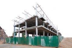 Site de construction de bâtiments photo stock