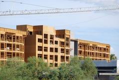 Site de construction de bâtiments Photos stock