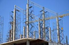 Site de construction de bâtiments chez la Thaïlande Photo libre de droits