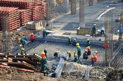 Site de construction de bâtiments chez la Thaïlande Image libre de droits