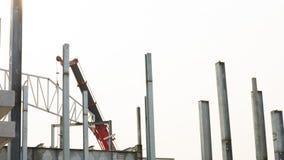 Site de construction de construction Photographie stock libre de droits
