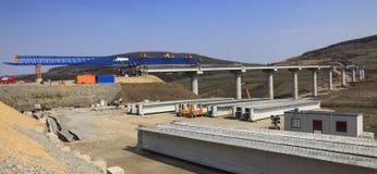 Site de construction de routes Image libre de droits
