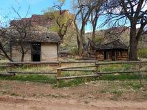 Site de ferme de Beaver Creek image libre de droits