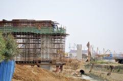 Site de gare de Zhuhai Images libres de droits