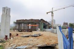 Site de gare de Zhuhai Photo libre de droits