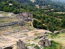 Site de Lycian de Tlos image libre de droits