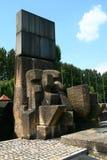 Site de mémorial d'Auschwitz Image libre de droits