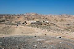 Site de Nabi Musa dans le désert Photo libre de droits