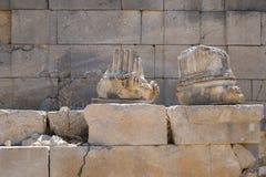 Site de Patara Archaelogical Image stock