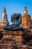 Site de patrimoine mondial à Ayutthaya, Thaïlande Image stock