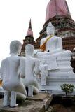 Site de patrimoine mondial d'Ayutthaya Photos stock