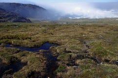 Site de patrimoine mondial de l'UNESCO du Groenland Photographie stock libre de droits